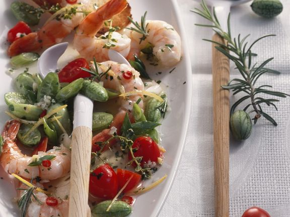 Marinated Shrimp and Cucumber Salad