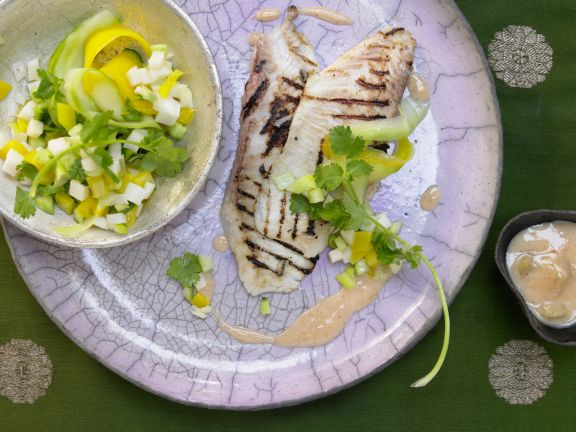 Marinated Tilapia Fillets