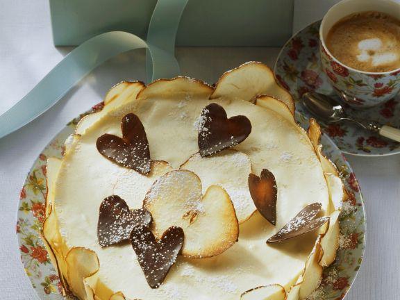 Mascarpone Cake with Apples
