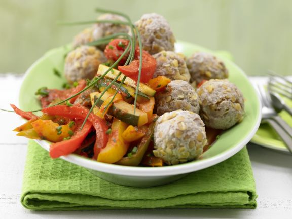 Meat and Lentil Meatballs