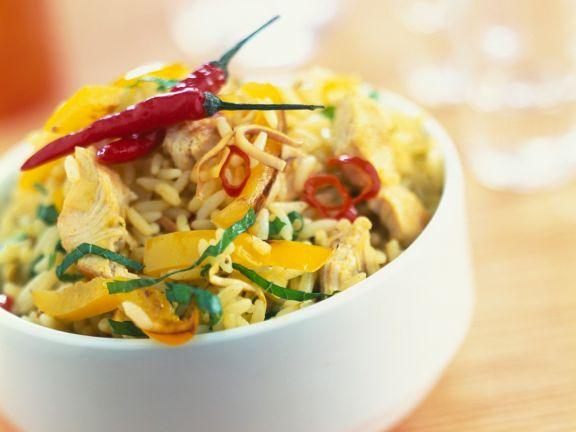 Mediterranean Chicken Rice