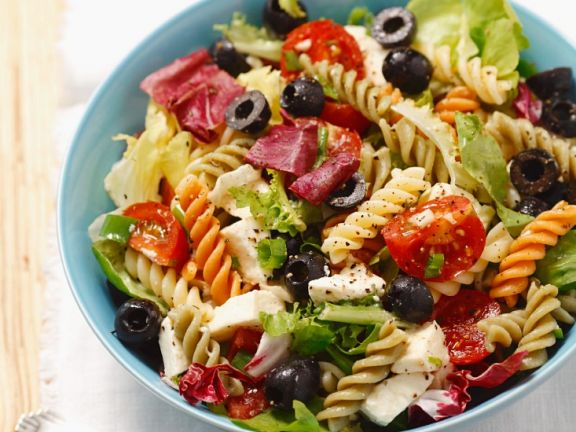 Med-style Fusilli with Olives