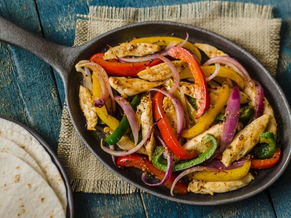 Mexican-style Chicken and Peppers