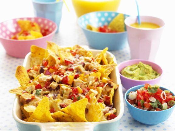 Mexican Tortilla Chip Dish