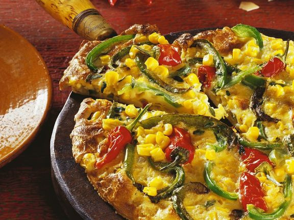Mexican Tortilla with Vegetables
