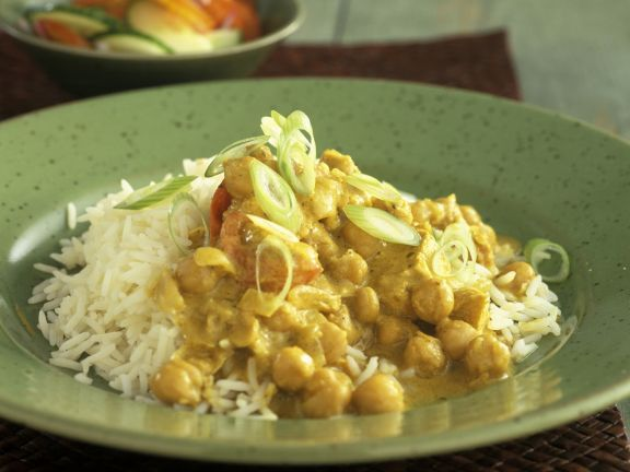 Mild Chickpea Curry