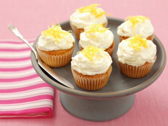 Mini Cakes with Citrus Topping