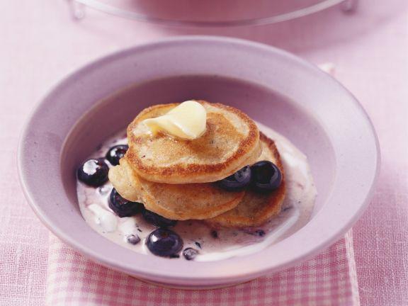 Mini Muesli Pancakes