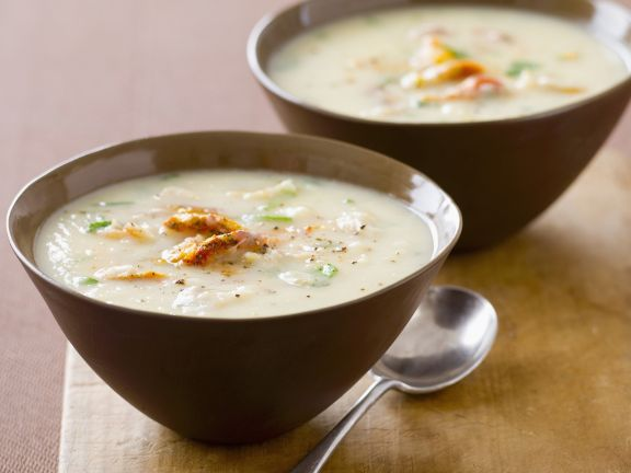 Mixed Fish Creamy Soup