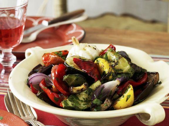 Mixed Grilled Mediterranean Vegetables