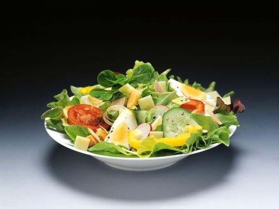 Mixed Salad with Eggs