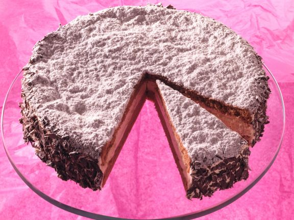Mocha Rum Cream Layer Cake