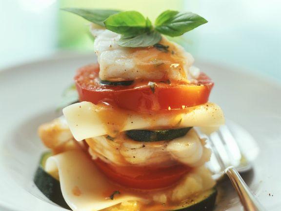 Monkfish Lasagna