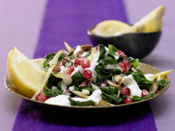 Moroccan Spinach Salad