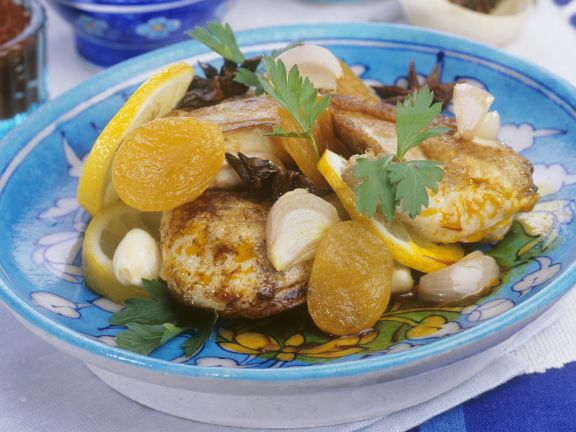 Moroccan Stew with Stone Fruit