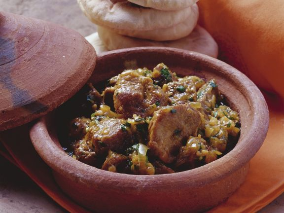 Moroccan-Style Braised Lamb