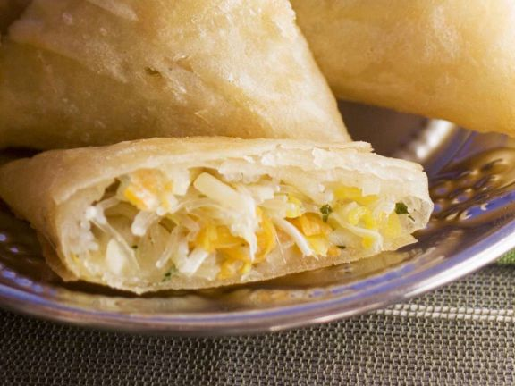 Moroccan Turnovers with Vegetables