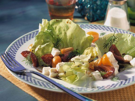 Mozzarella Plum Salad
