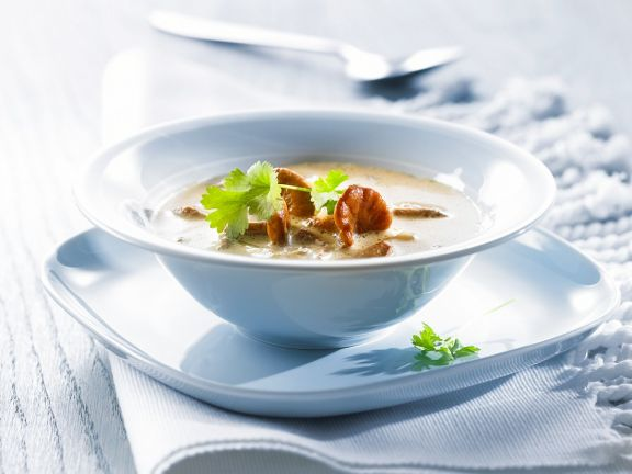 Mushroom Bisque with Herbs