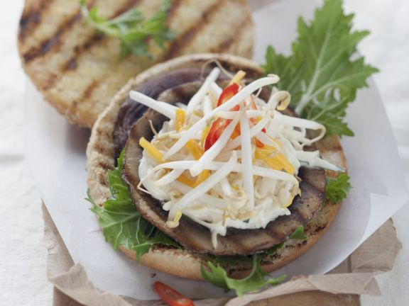 Mushroom Patty Burgers