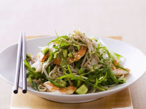 Noodle and Prawn Salad