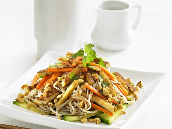Noodles with Tofu and Vegetables from the Wok
