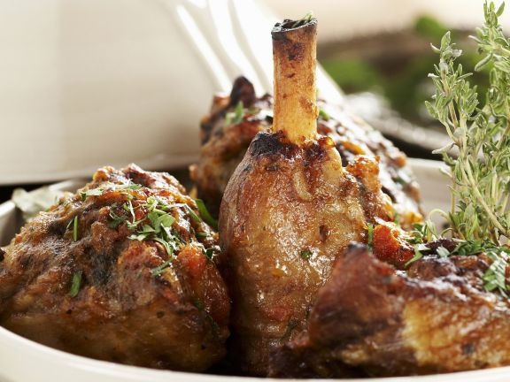 North African Lamb Shank Stew