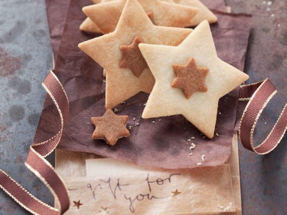 Nougat Star Cookies