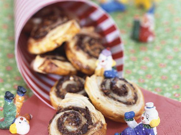 Nut and Cinnamon Pinwheels