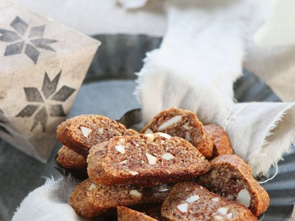 Nut Cookies for Coffee