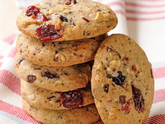 Nutty Berry Biscuits
