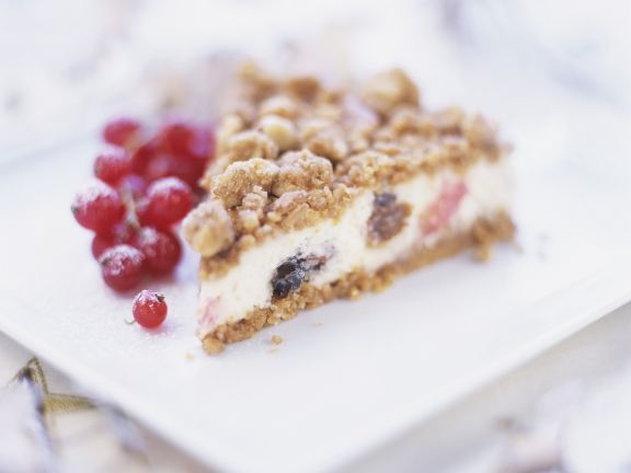 Nutty Mincemeat Cheesecake