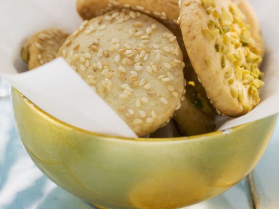 Nutty Palm Sugar Biscuits