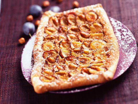 Nutty Stone Fruit Tartlets