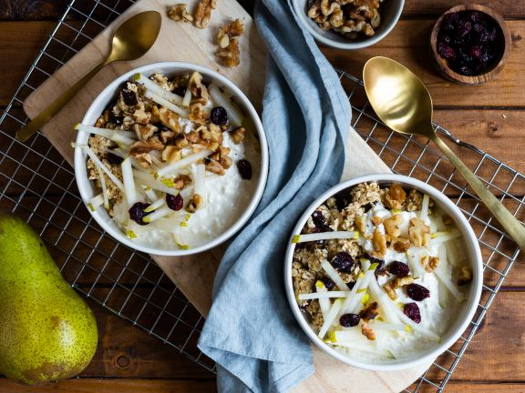 Oats, Walnuts and Fruit