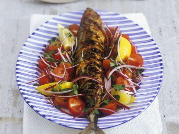Oily Fish with Veggies