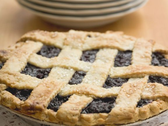 Old-fashioned Blueberry Pie