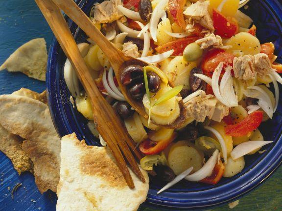 Olive, Potato, and Tuna Salad