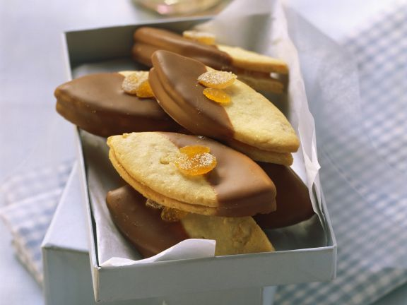Orange and Almond Cookies