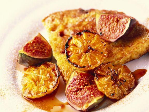 Orange and Fig Tart