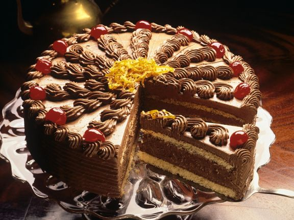 Orange Cake with Buttercream