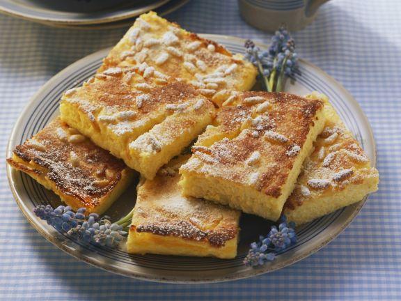 Orange Cheesecake with Polenta