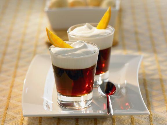 Orange Coffee with Cream
