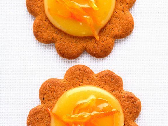 Orange-Curd Cookies