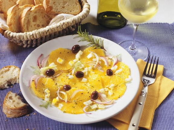 Orange Salad with Fennel and Onion