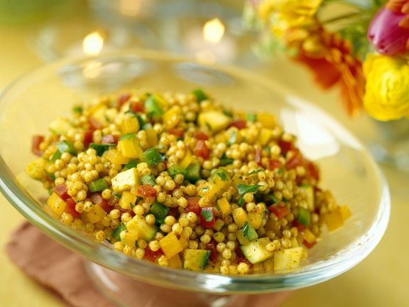 Oriental Couscous with Vegetables