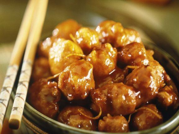 Oriental Orange Glazed Pork
