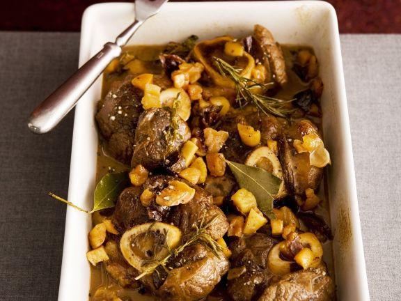 Italian Beef Shin Braise