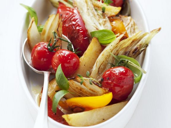 Oven-Roasted Vegetable Salad