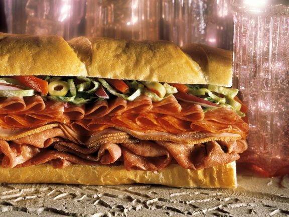 Over-Stuffed Sandwiches